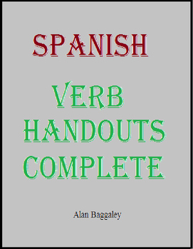 Spanish Verb Handouts Complete