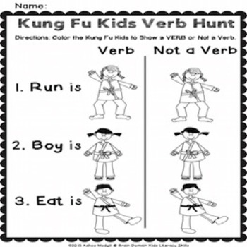 Verbs Worksheets