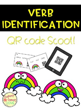Verb Identification QR Code Scoot