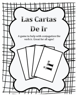 Verb Ir Card Game