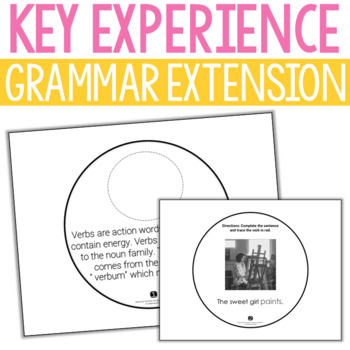 Verb Key Experience Extension Booklet