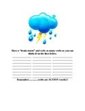 Verb Lesson Plan (Brainstorming Activity)