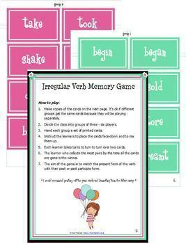 Irregular Verbs - A Complete Package