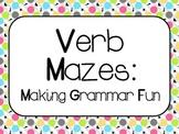 Verb Mazes:  Making Grammar Fun