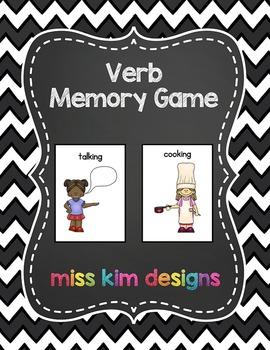 Verb Memory Game