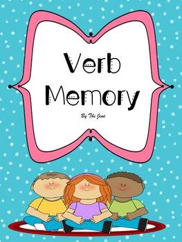 Verb Memory K-2  (Bonus*** Verb Bingo ***)