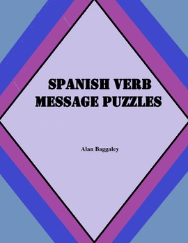 Verb Message Puzzles (advanced)