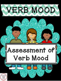 Verb Mood - a Common Core assessment