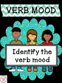 Verb Mood - a Common Core worksheet