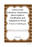 Verb Moods:  A Week of Bell Ringers