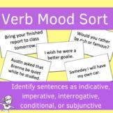 Verb Moods Sorting Game