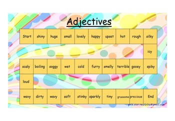 Verb Noun Adverb Adjective English Sentence Games Fun
