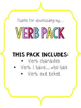 Verb Pack