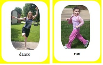 Verb Picture Cards