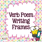 Verb Poem Writing Templates