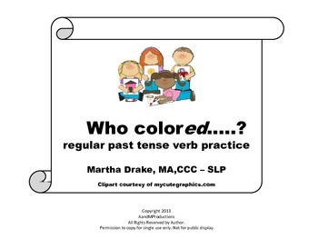Verb Practice Combo Packet