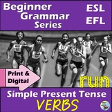ESL Newcomer Grammar Activities:  Simple Present Tense Verbs