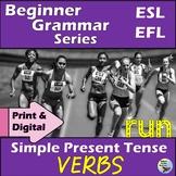 ESL Grammar Simple Present Tense ELL Verb Activities Great
