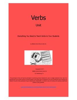 Verb Practice Unit