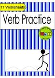 Verb Practice - Worksheets