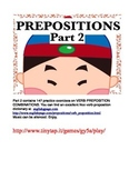 Verb-Preposition Combinations for ESL Students APP
