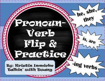 Pronoun-Verb Flip & Practice