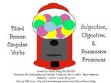 Verb & Pronoun sort