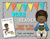 {Verb} Reader/Booklet Supports Common Core ELA Kindergarten