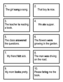 Verb Scoot-Action, Helping & Linking Verbs