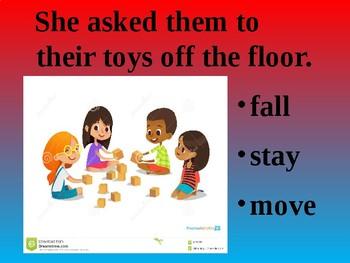Verb Sentence Practice PowerPoint