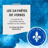 Verb Skits - Les saynètes de verbes
