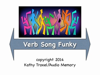 """Verb Song Funky mp4 Video by Kathy Troxel from """"Grammar Songs"""""""