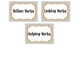 Verb Sort---Action, Linking, Helping
