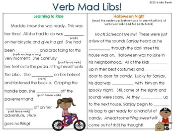 Verb Sort (Linking, Helping and Action Verbs)
