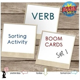 Verb BOOM Cards™ Sorting Activity : Set 1