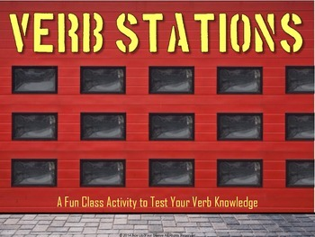 Verb Practice - 30 Stations
