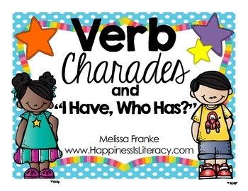Verb Study: Charades and I Have Who Has