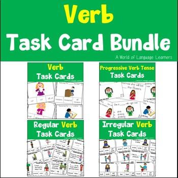 Verb Task Card Bundle