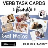 Verb BOOM CARDS™ Task Cards BUNDLE !