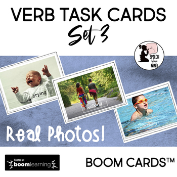 Verb BOOM Cards™ : Task Cards Set 3