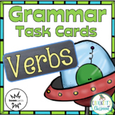 Verb Task Cards (action, helping, linking) print and digit