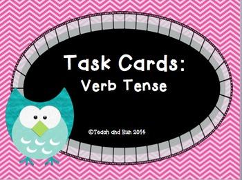 Verb Task Cards bundle