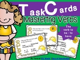 Verb Task Cards {to be / to have 24 cards}