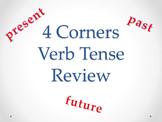 Verb Tense 4 Corners Game