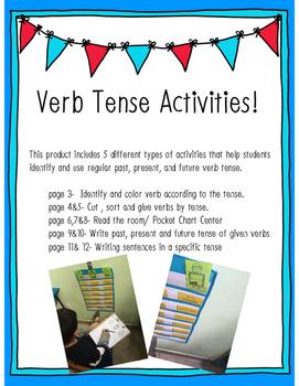 Verb Tense Activities