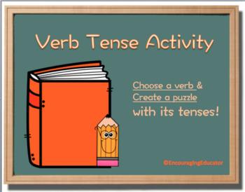 Verb Tense Activity Puzzle