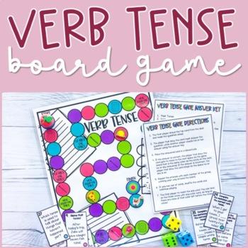 Verb Tense Board Game