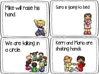 Verb Tense Bundle Literacy Centers L.1.1