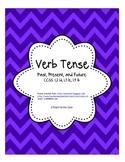 Verb Tense CCSS: L2.1d, L3.1e, L4.1b