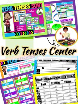 Verb Tense Center Activities (Past, Present, Future)